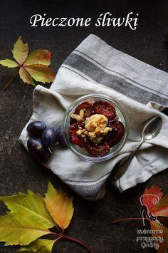 Kulinarne przygody Gatity: Jogurt z pieczonymi śliwkami