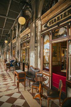 Cafe Florian (world's oldest cafe), Venice, Italy