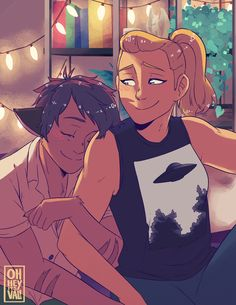 Cute Couple Comics, Couples Comics, Yuri, She Ra Princess Of Power, Short Comics, Zodiac Art, Owl House, Character Development, Me As A Girlfriend