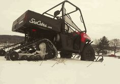 If you have the SnoCobra Ski System and a Polaris Ranger, you may be the lone ranger during wild wintry conditions, but that's OK. Get the job done and get where you need to go despite seasonal snow. $1299.00 http://www.sidebysidestuff.com/snocobra-ski-system---polaris-ranger.html