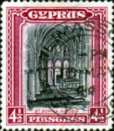 Cyprus 1934 King George V SG 138 Fine Used Scott 130 Other Cyprus Stamps HERE