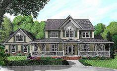 Farmhouse Plan With Upstairs Family Room   6522RF | 1st Floor Master Suite,  Bonus Room