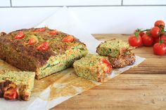 Zucchini & Sweet Potato Slice (Recipe)