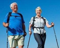 Health Benefits of Nordic Pole Walking | insideoutphysio