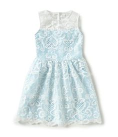 Shop for Rare Editions 7-16 Embroidered Lace & Charmeuse Illusion Dress at Dillards.com. Visit Dillards.com to find clothing, accessories, shoes, cosmetics & more. The Style of Your Life.
