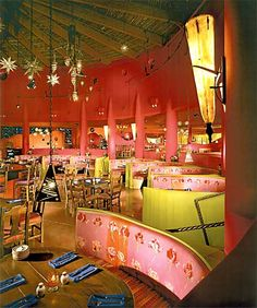 Merveilleux Agave Mexican Restaurant   Commercial Interior Design