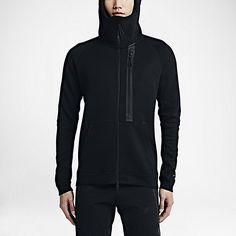 Nike tech fleece full zip black hoodie - Sold by Nike Tech Fleece Men, Tech Fleece Hoodie, Adidas Outfit, Gym Style, Sport Wear, Black Hoodie, Mens Fashion, Hoodies, 2016 Winter