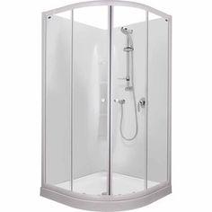 Englefield Emerald Shower - Showers   Mitre 10™ Bathroom Renos, Bathroom Medicine Cabinet, Locker Storage, Emerald, Bathtub, Space, Showers, Furniture, Design