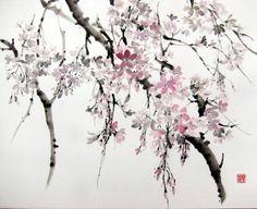SUMI E técnica japonesa de tinta china