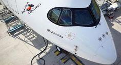 Airbus utilizará drones para buscar posibles daños en sus aviones - http://www.hwlibre.com/airbus-utilizara-drones-buscar-posibles-danos-aviones/