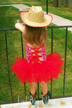 Cowgirl Tutu Costume-totally doing this for my little girl someday!