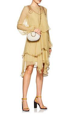 Chloé Pixie Leather & Suede Mini Crossbody Bag - Mini Bags - 505421040
