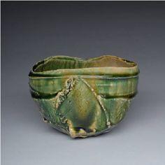 Oribe Teabowl by Shigemasa Higashida presented by Lacoste Gallery