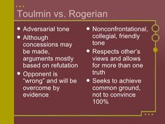 rogerian argument places more emphasis on the relationship between  toulmin essay example toulmin and rogerian arguments