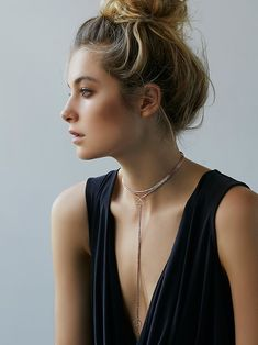 Free People Delicate Chain Choker Bolo at Free People Clothing Boutique