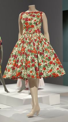 day dress artist Norell, Norman   American   1900-1972 creation date about 1957