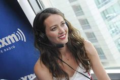 Amy Acker at the Sirius XM Studio #PersonOfInterest #POIatSDCC