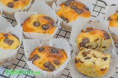 Our Low Carb Chocolate Chip Muffins are so easy to make and are not only delicious, but also very moist and fudge-y. You don't have to miss out on muffins!