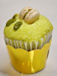 Pistachio Cupcake/ Bottega Louie Restaurant & Gourmet Market/ Los Angeles, California