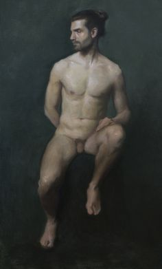 Nude study. Jason Tremlett  jasontremlett.com Charles Cecil Studios