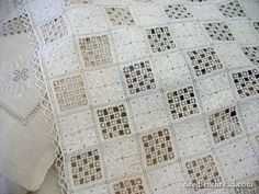 Lefkara Lace, Revisited – Needle'nThread.com.is this crochet or lace pieces sewn together?