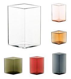 Iittala Ruutu glass vase