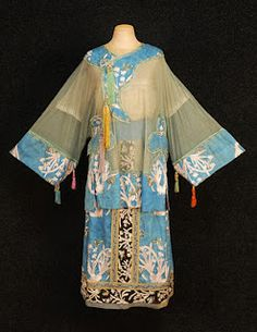 Lucile, Ltd Chinese Silk Tunic Dress 1919  photo courtesy of Charles A. Whitaker Company