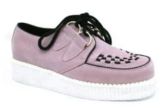 Womens Ladies Flat Lace Up Platform Wedge Heel Goth Brother Creepers Shoes C53 | eBay
