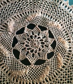 Needle Lace Design: Butterfly