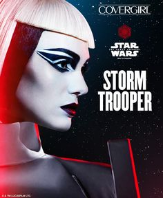 Thinking about Halloween? Try this step-by-step STAR WARS-inspired tutorial for the bold and graphic Stormtrooper look featuring COVERGIRL STAR WARS Limited Edition makeup. Click to watch our how-to video and learn how to create the entire look.