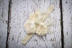 Le bandeau de Rosette Amelia Vintage rosace par DLilesCollection