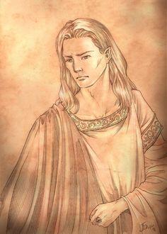 Finrod Felagund by =Gold-Seven on deviantART - King of Norgothrond