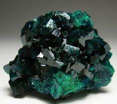 Emerald Dioptase Crystals