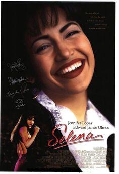 SELENA MOVIE POSTER Original SS 27x40 JENNIFER LOPEZ Rare Autographed Version