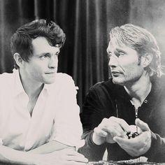 Hugh Dancy & Mads Mikkelsen