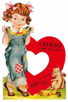 Free Vintage Valentine's Day printables. <3