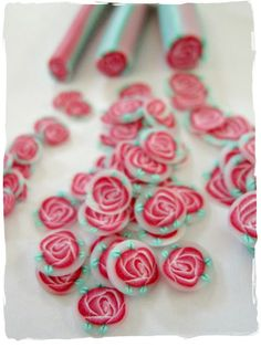 ...Make It With Me: Rose Cane Tutorial