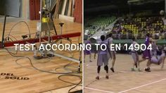 Sports Parquet Floors  Shock absorption and Vertical Deformation