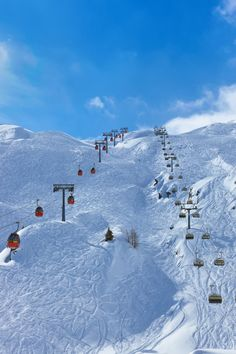 Breathtaking nature in Zell am See, Austria - a snowy heaven for those who loves ski sports and outdoor life!