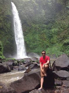 at nungnung waterfall, Bali.. have been here guys?