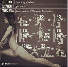 Leg Workout for Summer