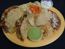 Quesadillas:Made with cheese from Pico Pica Rico Restaurant in Los Angeles #Food #Quesadillas #Restaurant forked.com