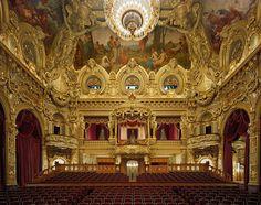 Opéra de Monte Carlo, Monte Carlo, Monaco - Photography by David Leventi.