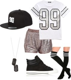 "Outfit inspired by: Kai in Exo's ""Wolf"" performance on Sokcho Show Champion"