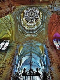 Interior Cathedral de Burgos, Spain.