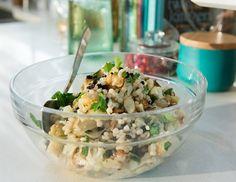 Crudite, Couscous Salad, Grilled Vegetables, Fresh Herbs, Salad Recipes, Potato Salad, Salads, Potatoes, Ethnic Recipes