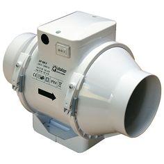 Ventilátor do potrubí plastový Ø 125 mm s přepínačem rychlosti Motor, Fans, Ebay, Fan, Pipes, Followers
