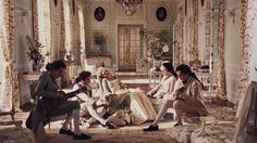 jake-its-chinatown: In Marie Antoinette, the men playing guitars in the scene with a woman singing for Marie are members of the group Phoenix. The lead singer Thomas Mars is the life partner of Sofia Coppola. forever reblog