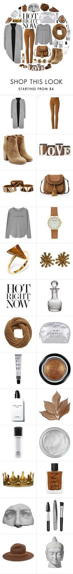 """brown//grey"" by perfectlydeathly ❤ liked on Polyvore featuring Warehouse, Amapô, Laurence Dacade, Voz Collective, MANGO, Ona Chan, Christian Lacroix, Etro, Cultural Intrigue and even&odd"