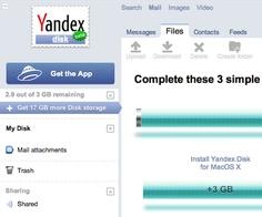 Yandex.disk Cloud Storage - Get 10GB FREE Space
